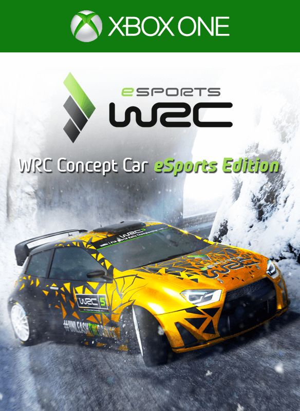 wrc 5 wrc concept car esports edition for xbox one 2016 mobygames. Black Bedroom Furniture Sets. Home Design Ideas
