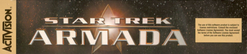 Star Trek: Armada Windows Spine/Sides Top