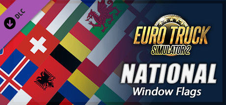 Euro Truck Simulator 2: National Window Flags