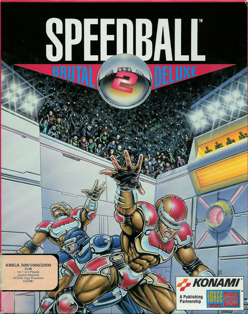 Speedball 2 Brutal Deluxe For Amiga 1990 Mobygames
