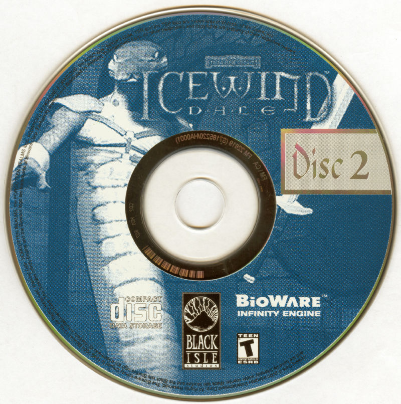 Icewind Dale: The Ultimate Collection Windows Media Icewind Dale Disc 2