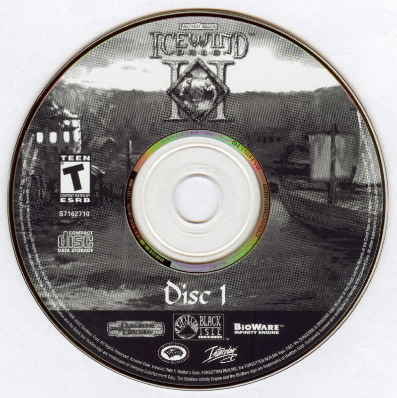 Icewind Dale: The Ultimate Collection Windows Media Icewind Dale II Disc 1