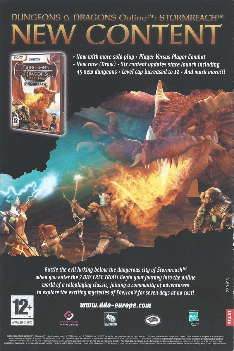 Neverwinter Nights 2 Windows Advertisement Front