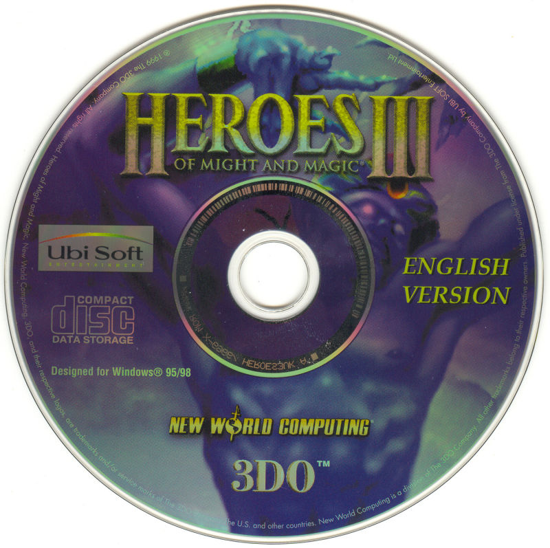 Heroes of Might and Magic III: The Restoration of Erathia Windows Media