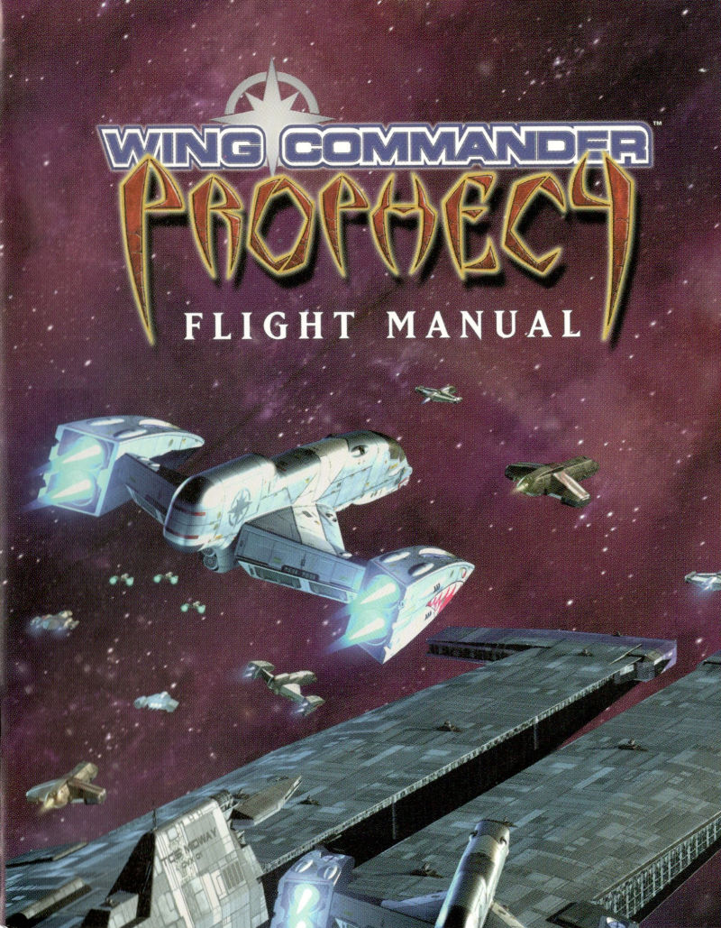 Wing Commander: Prophecy Windows Manual Front