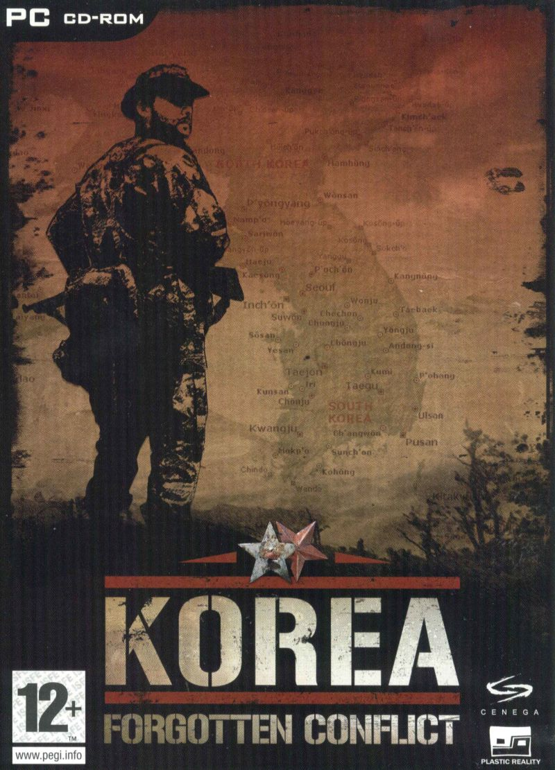 Korea: Forgotten Conflict Windows Front Cover