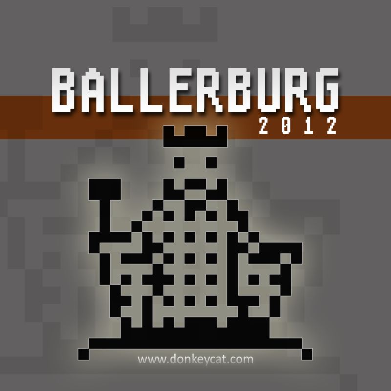 Ballerburg iPad Front Cover