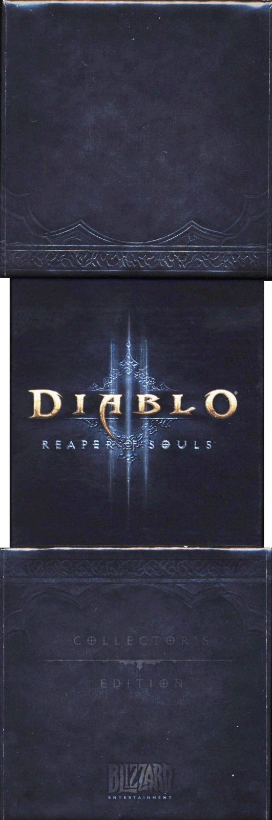 Diablo III: Reaper of Souls (Collector's Edition) Macintosh Spine/Sides Left