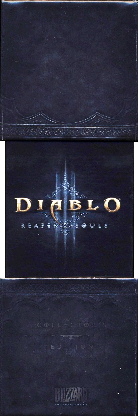 Diablo III: Reaper of Souls (Collector's Edition) Macintosh Spine/Sides Right