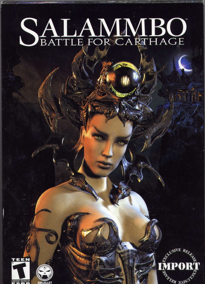 Salammbo: Battle for Carthage Windows Front Cover