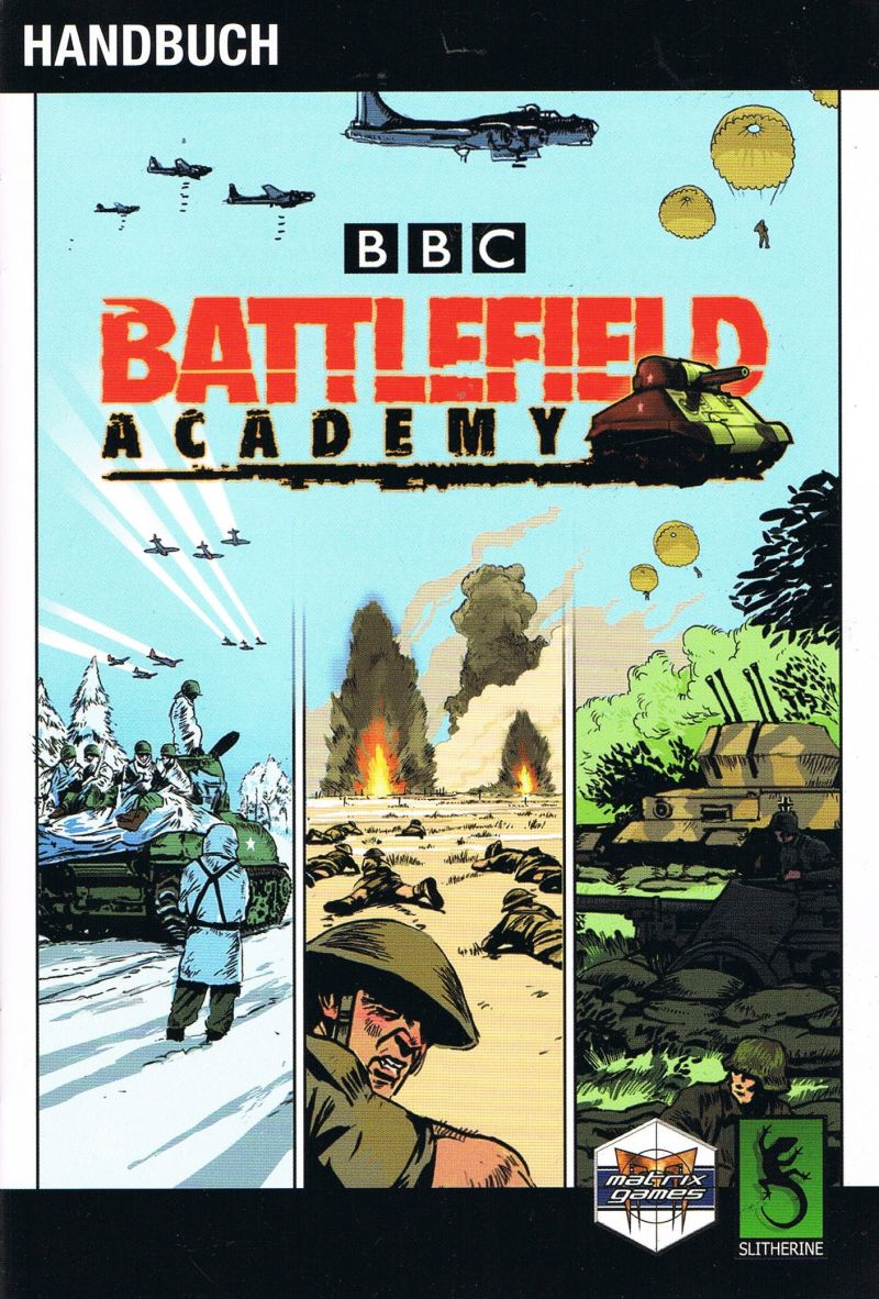 BBC Battlefield Academy Windows Manual Front