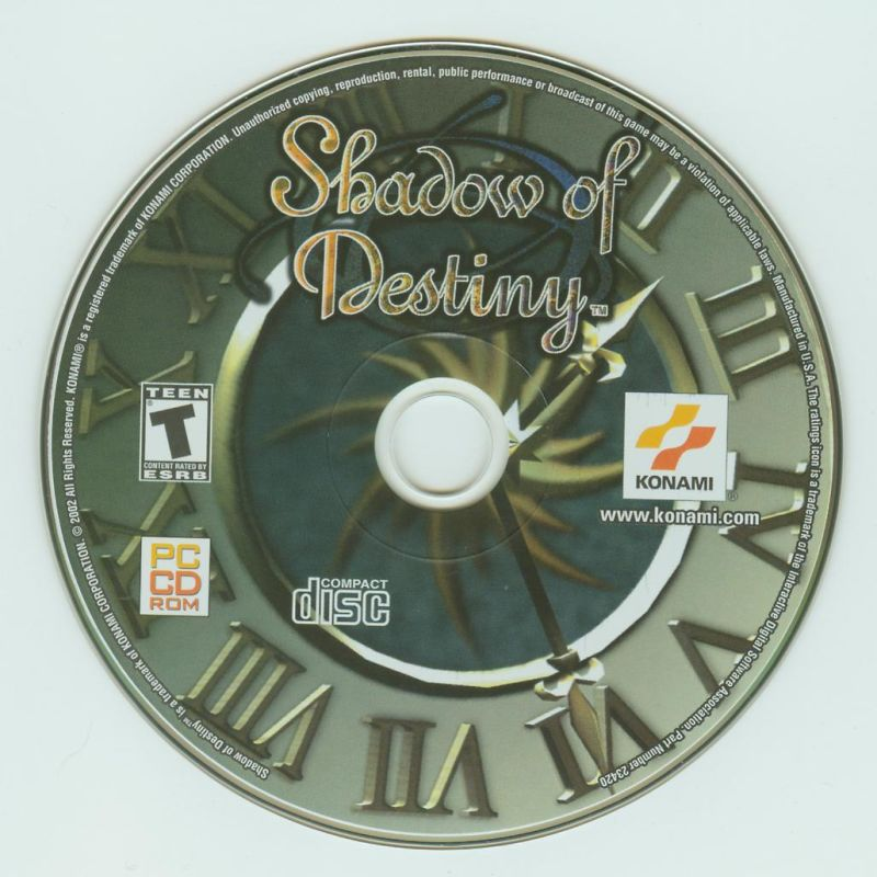 Shadow of Destiny Windows Media
