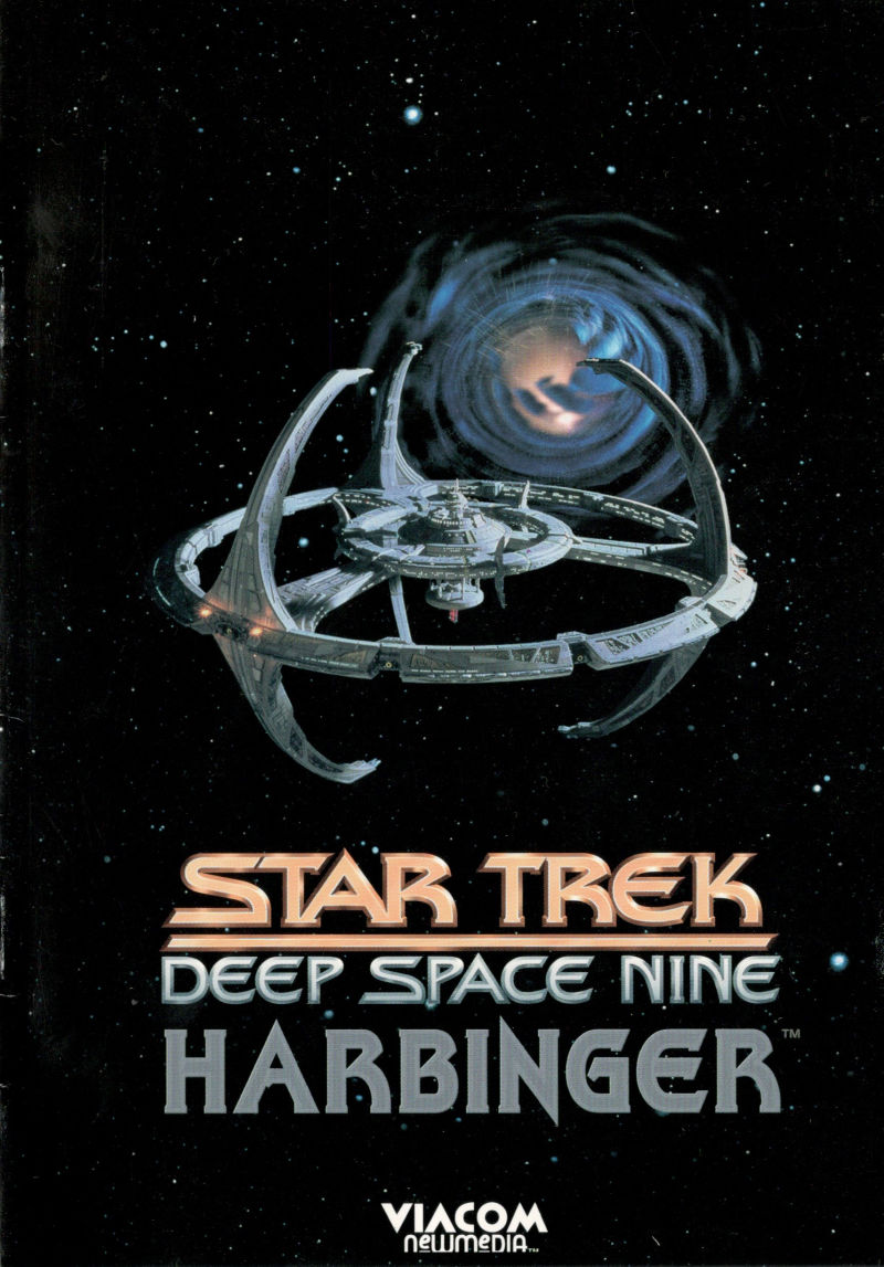 Star Trek: Deep Space Nine - Harbinger DOS Manual Front