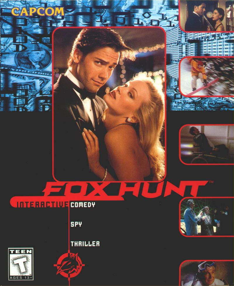 Fox Hunt Windows 3.x Front Cover