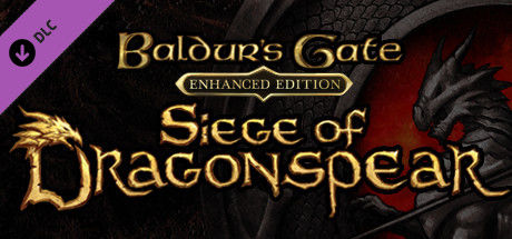 Baldur's Gate: Enhanced Edition - Siege of Dragonspear Linux Front Cover