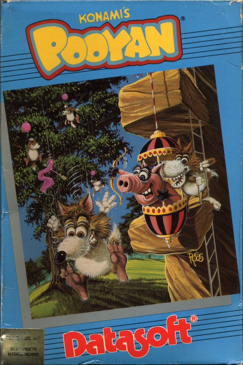Pooyan Commodore 64 Front Cover