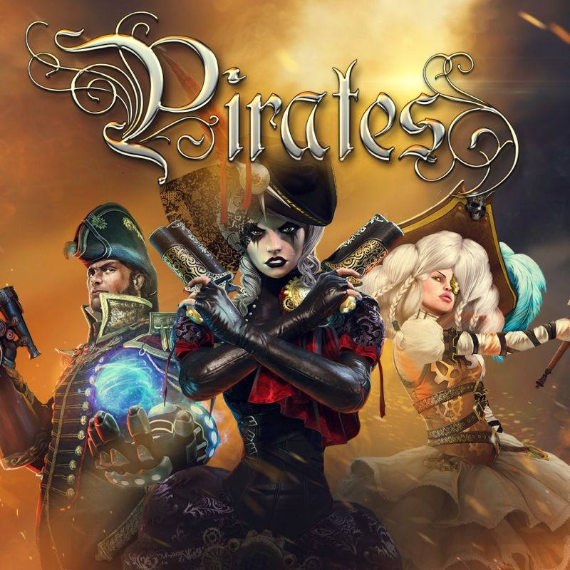 Pirates: Treasure Hunters PlayStation 4 Front Cover