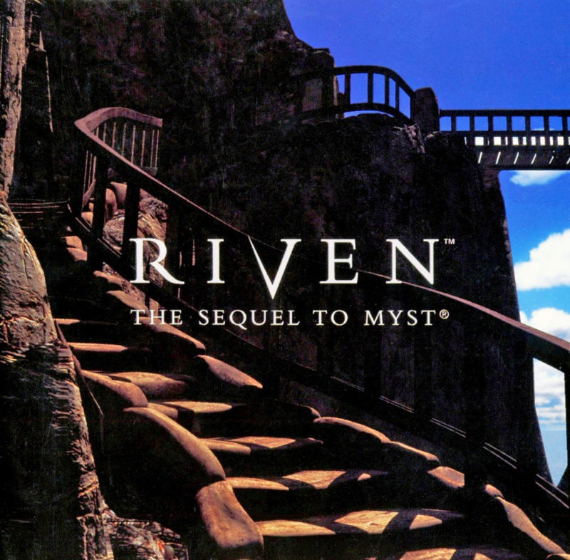 Riven: The Sequel to Myst Macintosh Manual Front