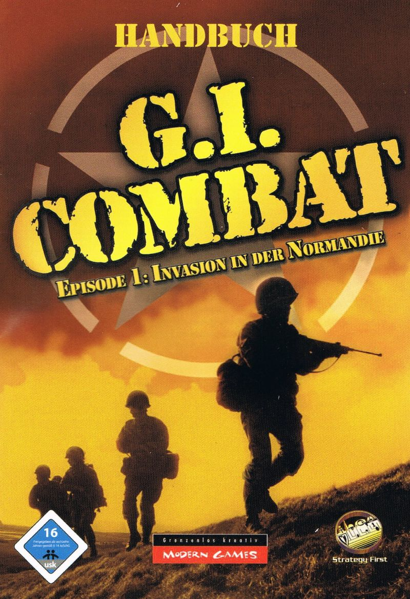 G.I. Combat: Episode 1 - Battle of Normandy Windows Manual Front