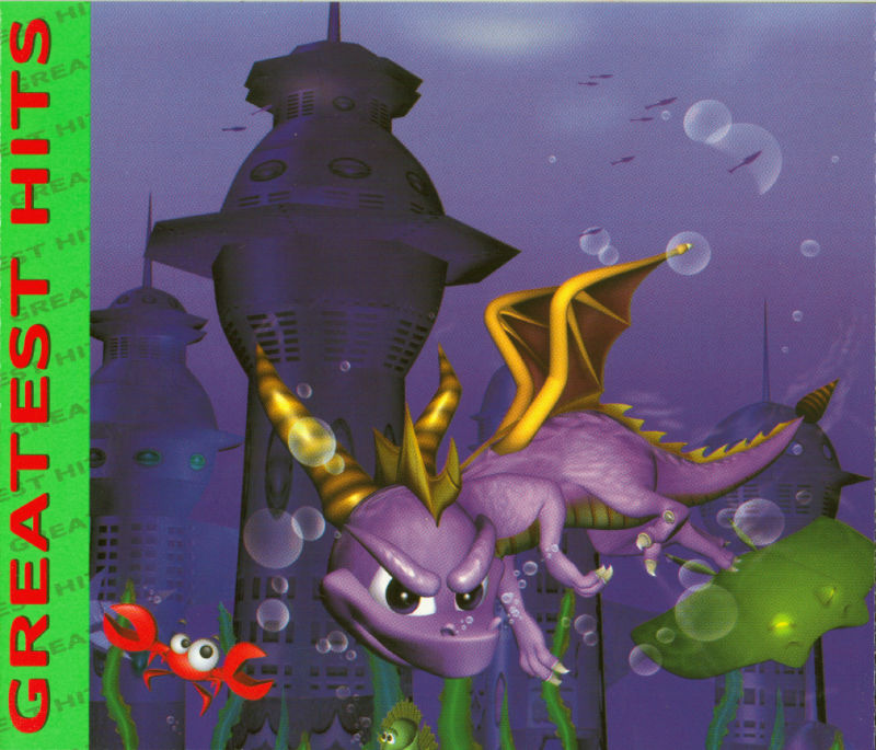 Spyro 2: Ripto's Rage! PlayStation Inside Cover