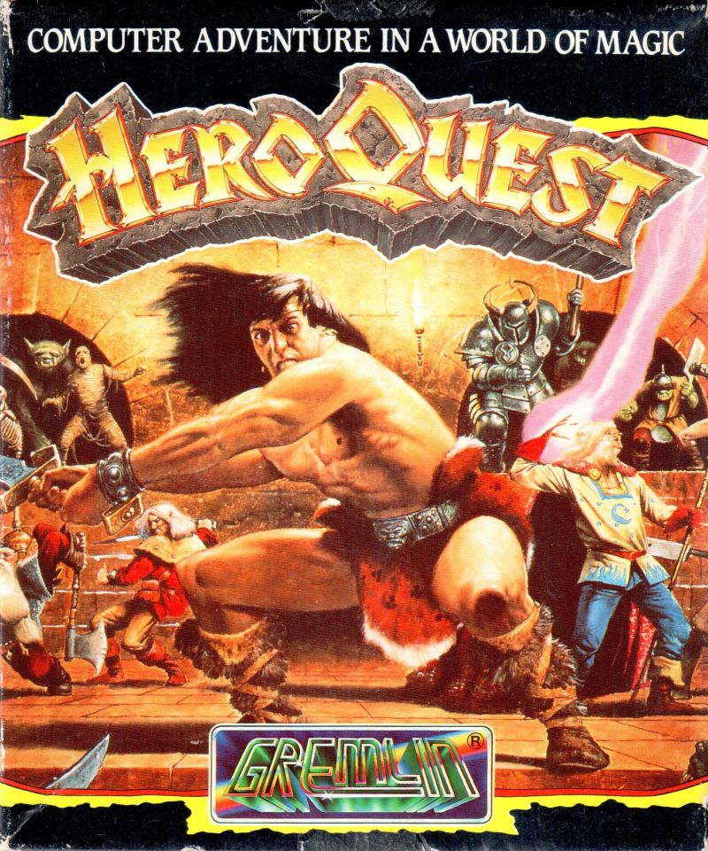 HeroQuest Amiga Front Cover