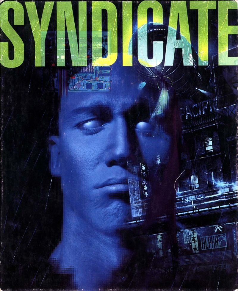 Syndicate DOS Front Cover