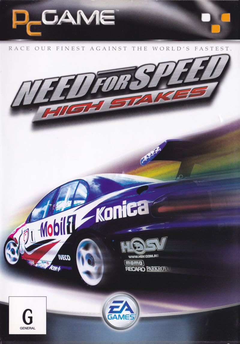Need For Speed High Stakes Windows Front Cover