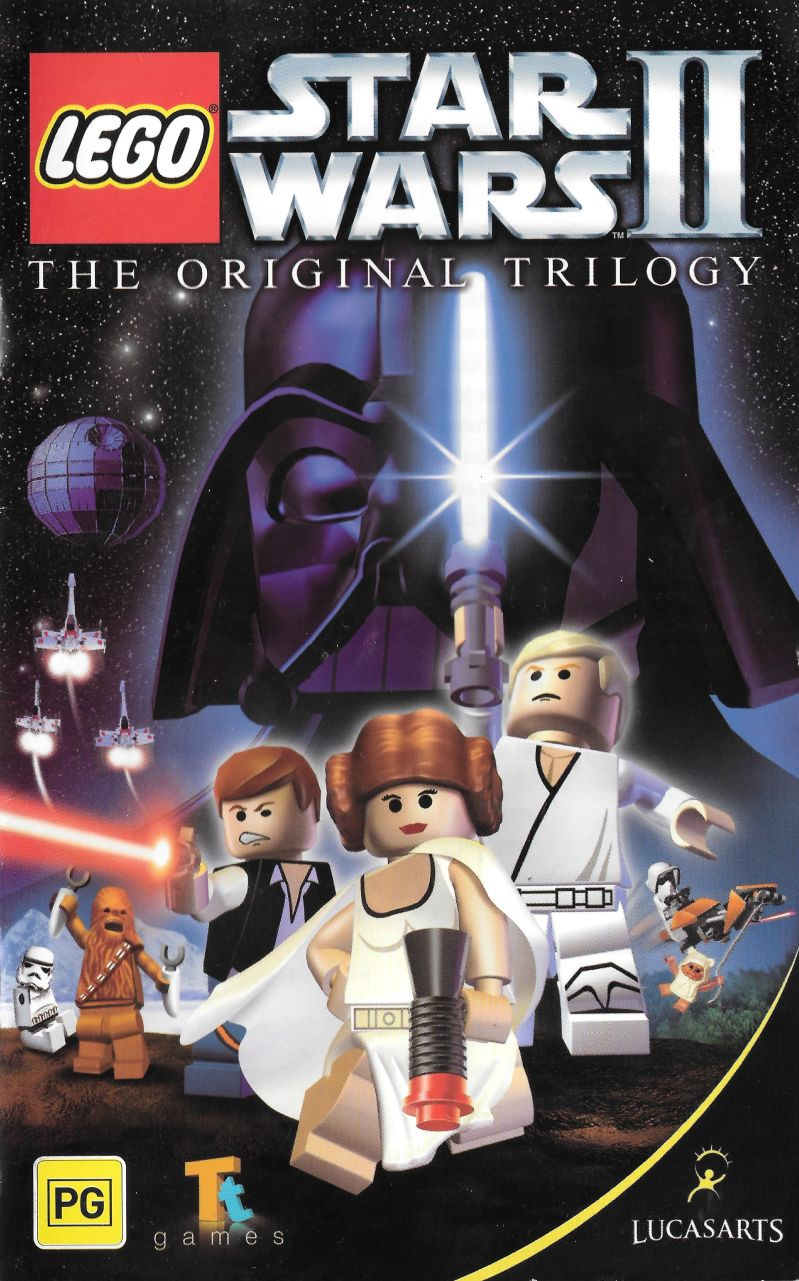 LEGO Star Wars II: The Original Trilogy Windows Manual Front