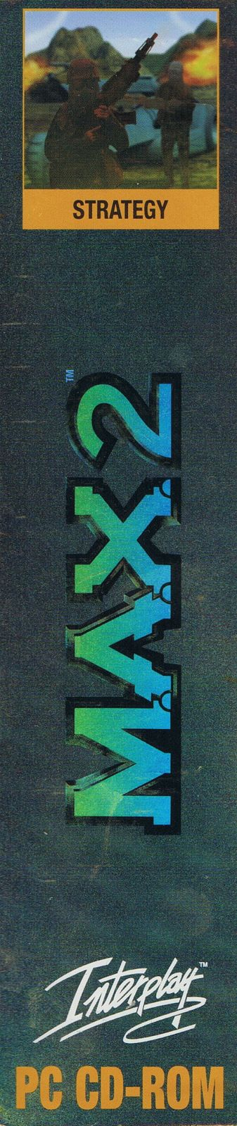 M.A.X. 2: Mechanized Assault & Exploration Windows Spine/Sides Right