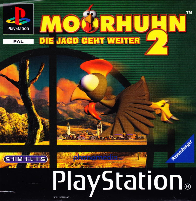 Moorhuhn 2 PlayStation Front Cover