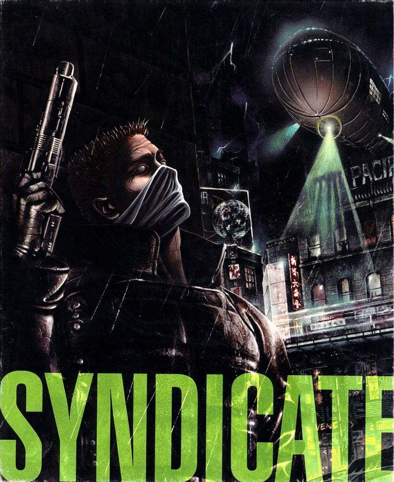 Syndicate DOS Back Cover