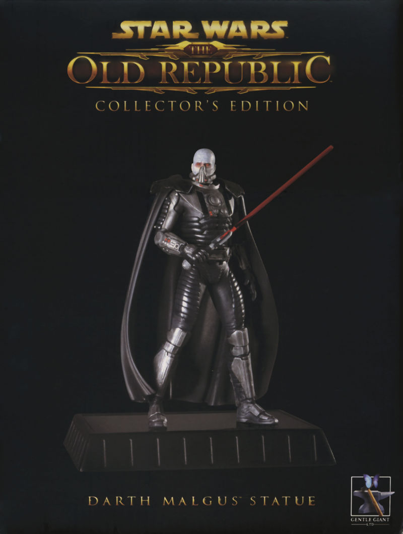 Star Wars: The Old Republic (Collector's Edition) Windows Extras Statue Box - Front