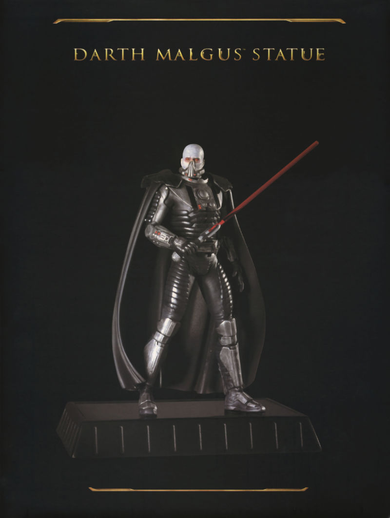 Star Wars: The Old Republic (Collector's Edition) Windows Extras Statue Box - Back