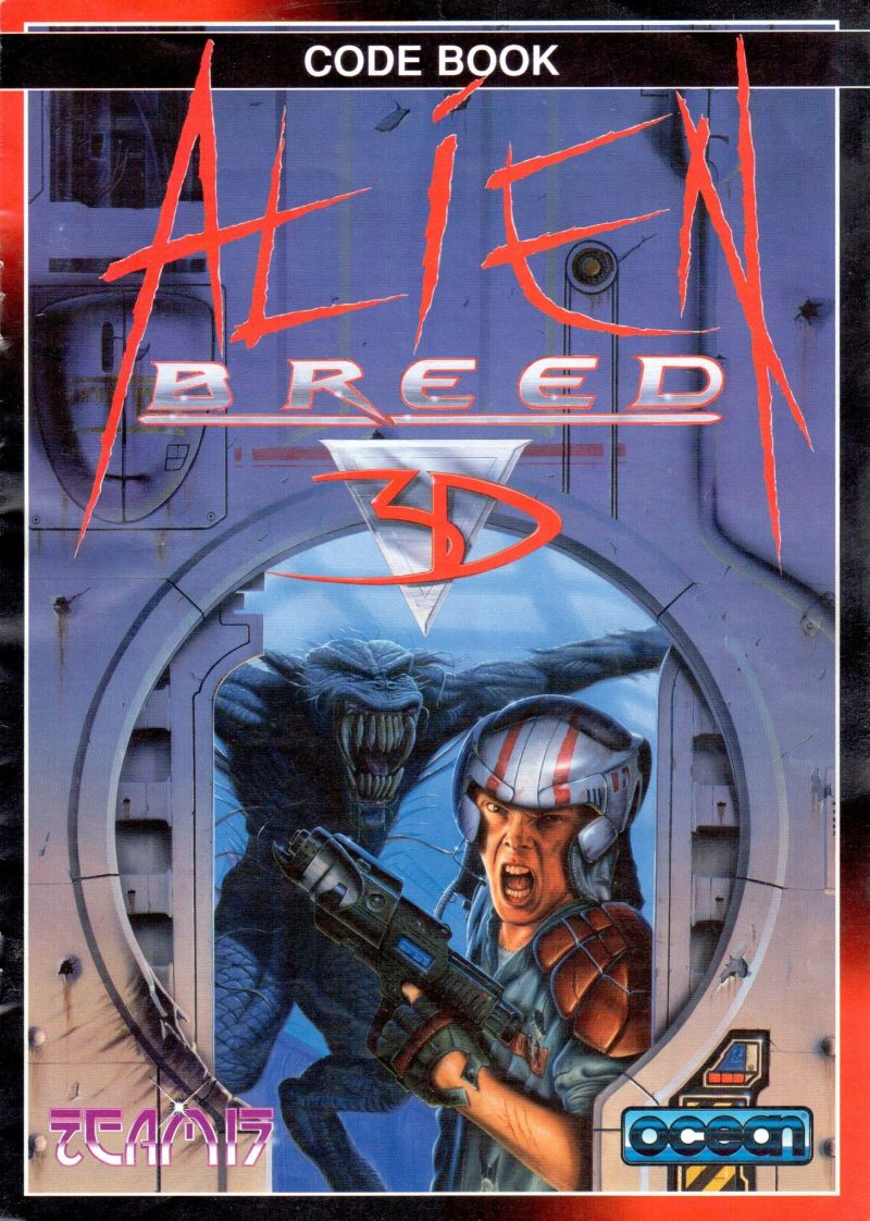 Alien Breed 3D Amiga Other Code Book