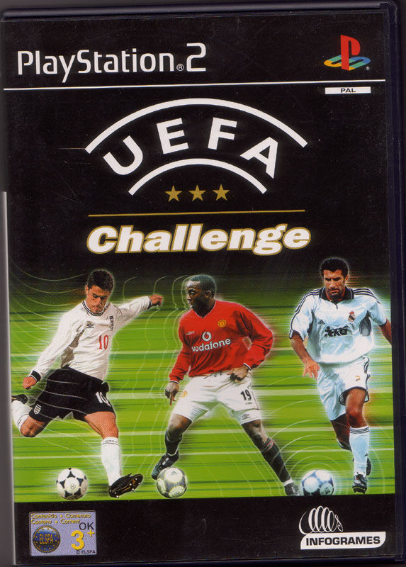 UEFA Challenge PlayStation 2 Front Cover