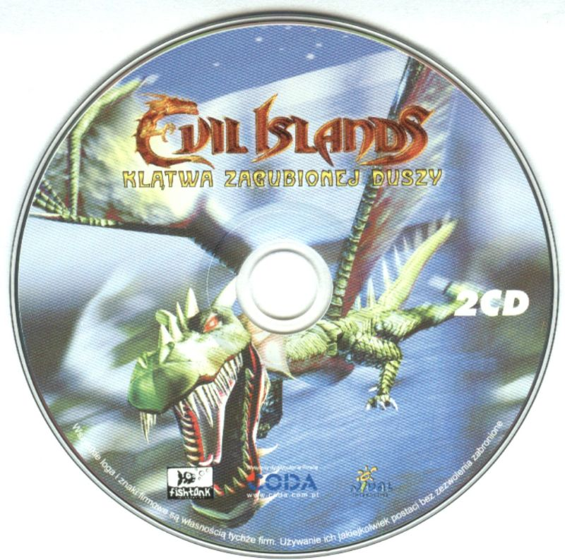 Evil Islands: Curse of the Lost Soul Windows Media Disc 2