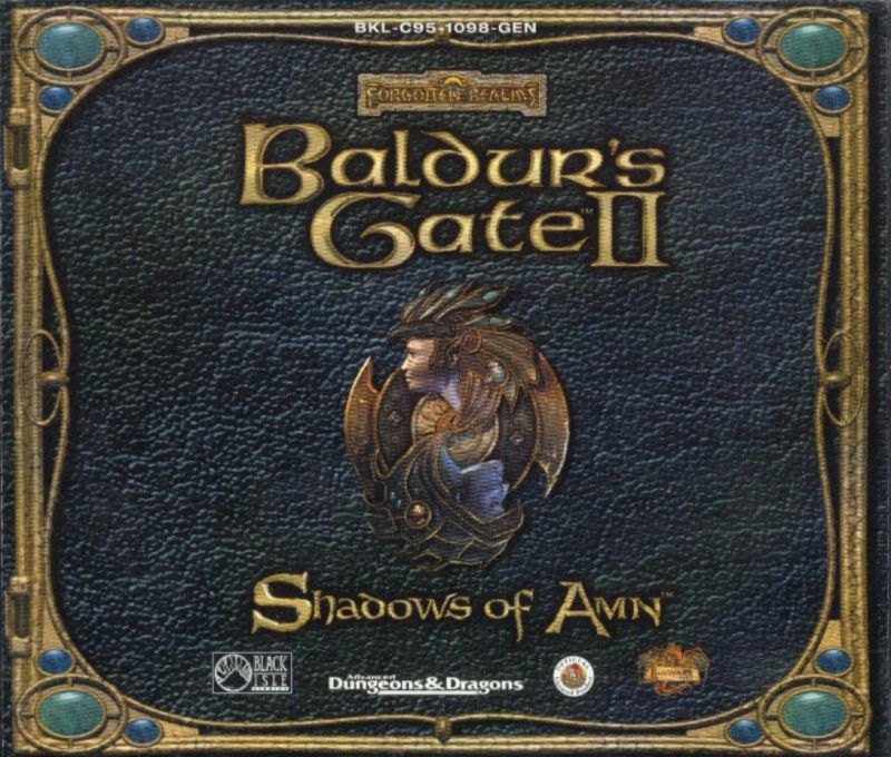 Baldur's Gate II: Shadows of Amn Windows Other Jewel Case - Front Cover