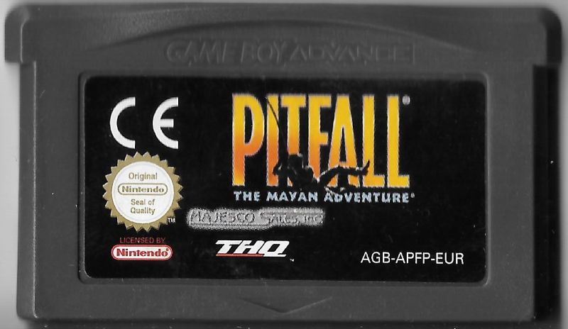 Pitfall: The Mayan Adventure Game Boy Advance Media