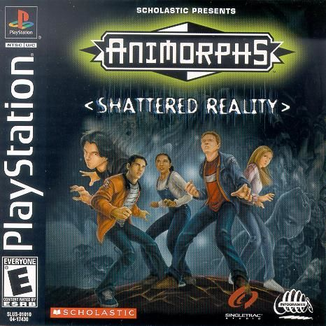 Animorphs: Shattered Reality PlayStation Front Cover