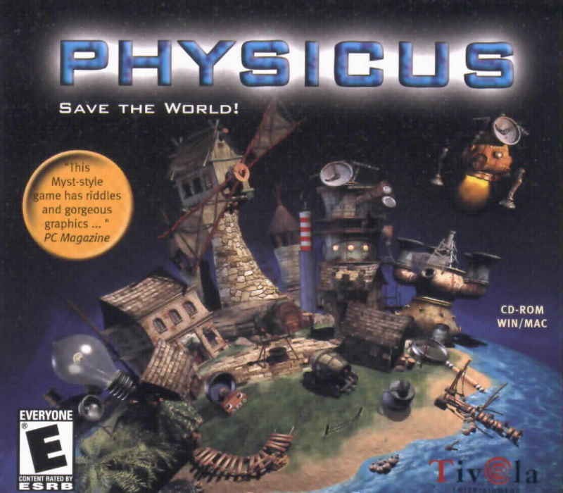 Physicus: Save the World with Science! Macintosh Front Cover