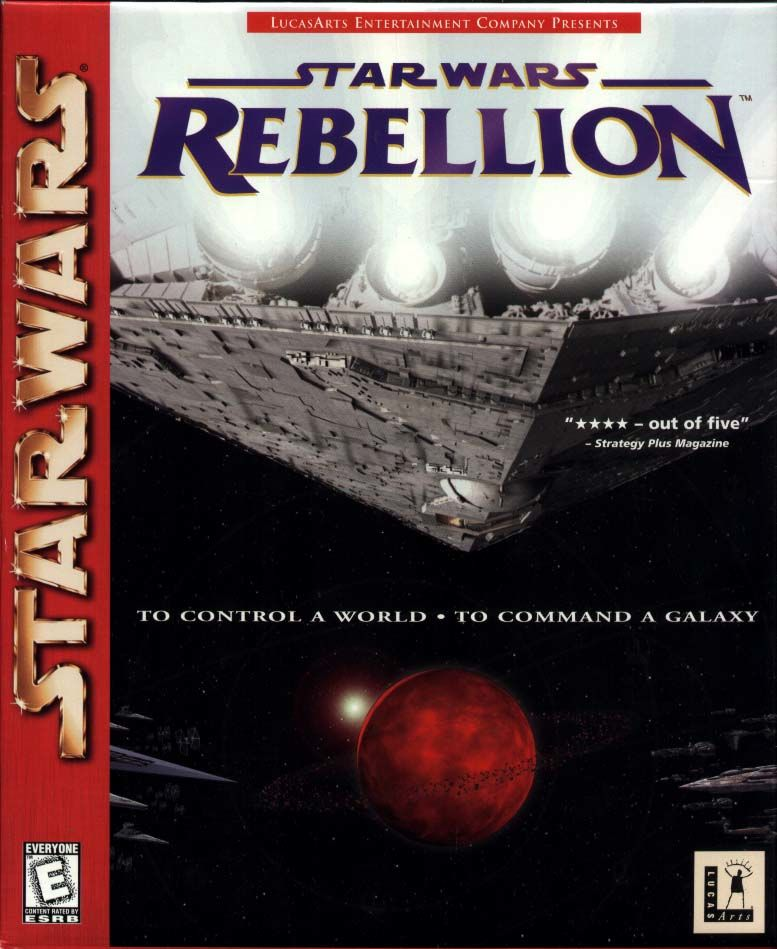 Star Wars: Rebellion Windows Front Cover