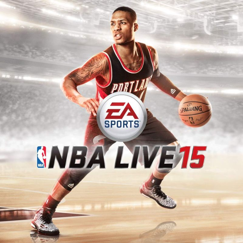 nba live 15 2014 playstation 4 box cover art mobygames. Black Bedroom Furniture Sets. Home Design Ideas