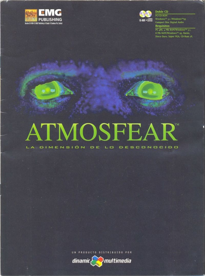 Atmosfear: The Third Dimension Windows Front Cover