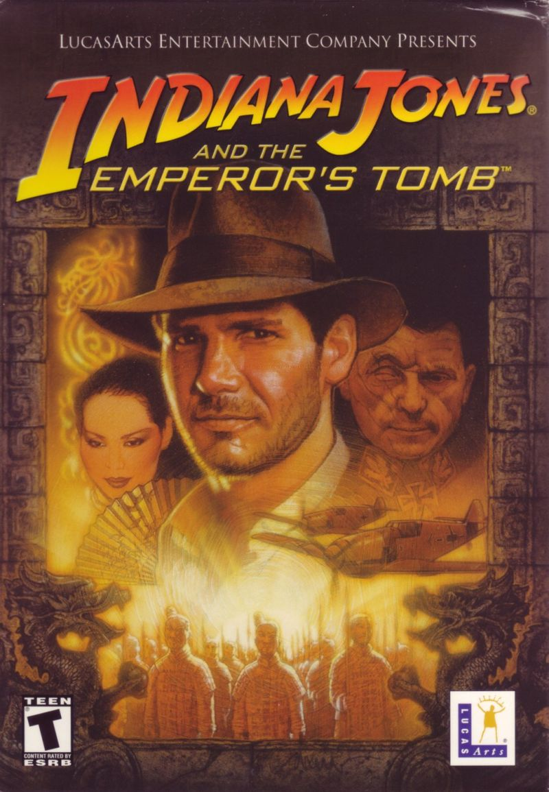 Indiana Jones and the Emperor's Tomb Windows Front Cover