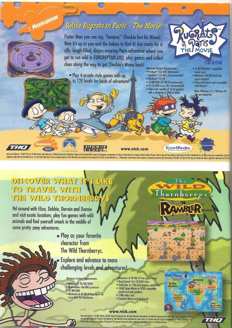 meet the thornberrys characters in game
