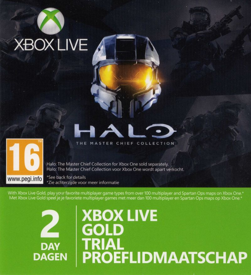 Halo The Master Chief Collection 2014 Xbox One Box Cover