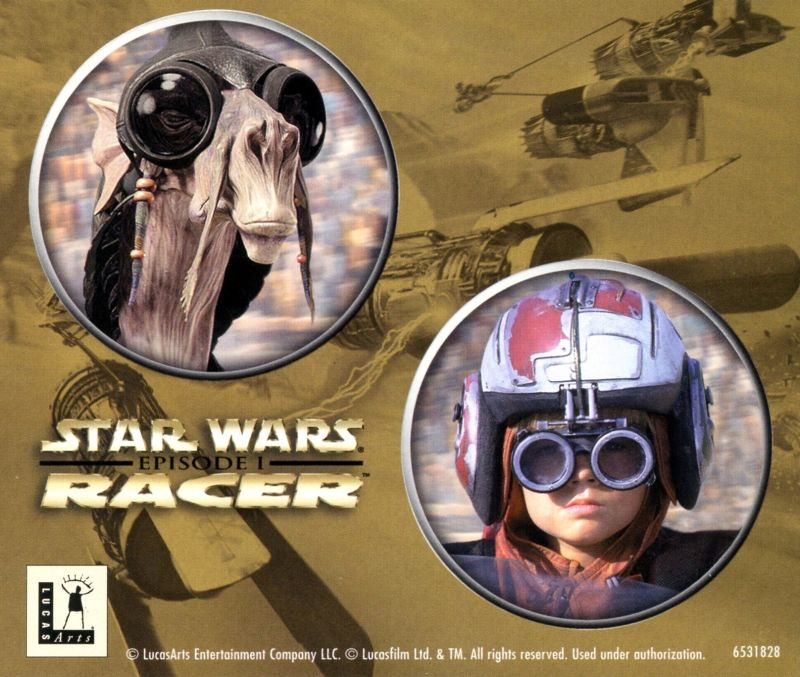 Star Wars: Episode I - Racer Windows Other Jewel Case - Back