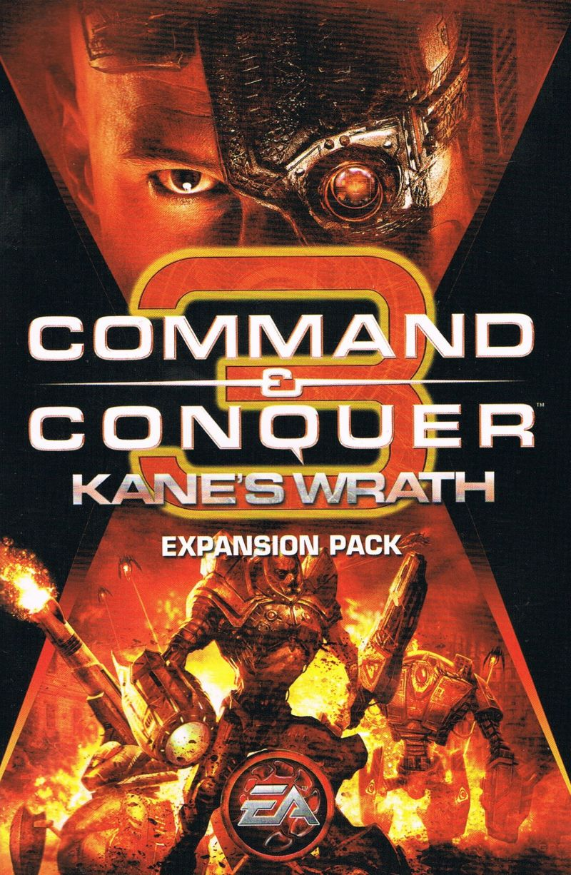 command conquer 3 kane s wrath 2008 windows box cover art rh mobygames com Command and Conquer 4 Command and Conquer 4