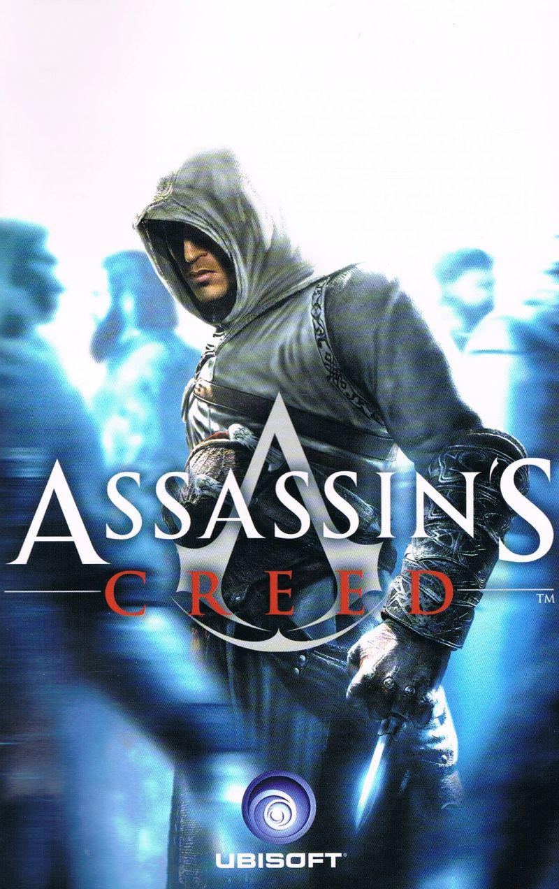 Assassin's Creed (Director's Cut Edition) Windows Manual Front