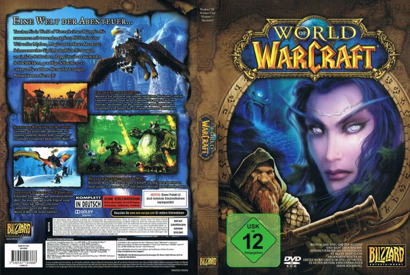 Image result for World of Warcraft 2004 box